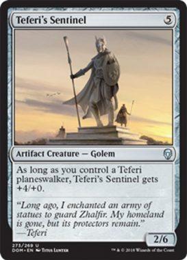Teferi's Sentinel(ドミナリア プレインズウォーカーデッキ テフェリー)