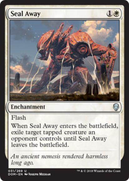 封じ込め(Seal Away)ドミナリア・英語版