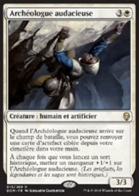 Audacious Archaeologist(英仮名)ドミナリア