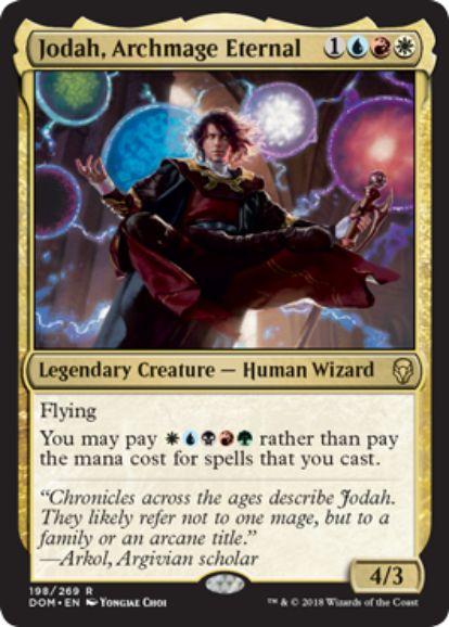永遠の大魔道師、ジョダー(Jodah, Archmage Eternal)ドミナリア・英語版