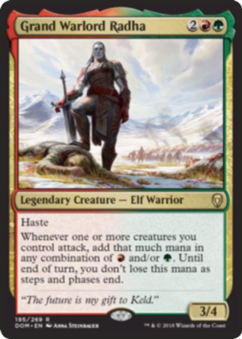 総将軍ラーダ(Grand Warlord Radha)ドミナリア・英語版