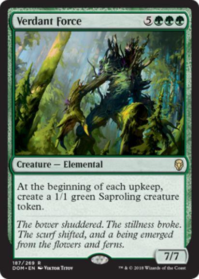 新緑の魔力(Verdant Force)ドミナリア・英語版