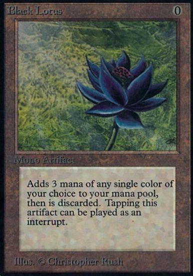 MTG「ブラックロータス(Black Lotus)」のイラストを使用した各種サプライがウルトラプロより発売決定!