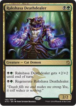 スゥルタイの猫悪魔「Rakshasa Dathdealer」