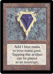 Mox Sapphire(パワー9)