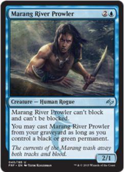 青アンコ「Marang River Prowler」(運命再編)