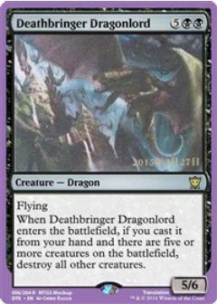 Deathbringer Dragonlord(MTG タルキール龍紀伝)