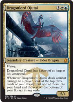 タルキール龍紀伝の伝説神話竜「竜王オジュタイ」