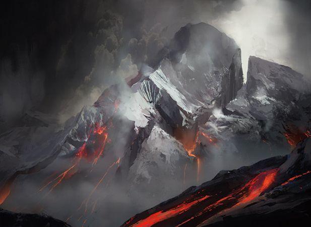 山(タルキール龍紀伝 フルアート)
