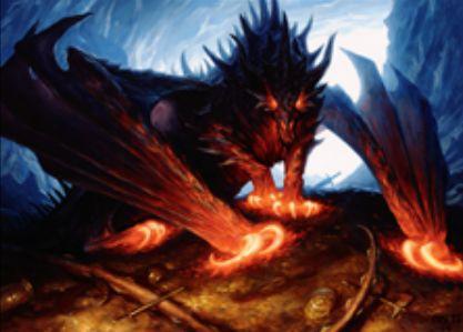 マジック・オリジンの神話ドラゴン「強欲なドラゴン」