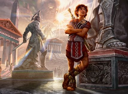 人間時のギデオン「アクロスの英雄、キテオン」(マジック・オリジン)
