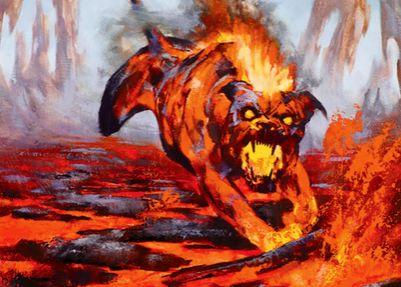 黒赤アンコの猟犬「Blazing Hellhound(マジック・オリジン)」
