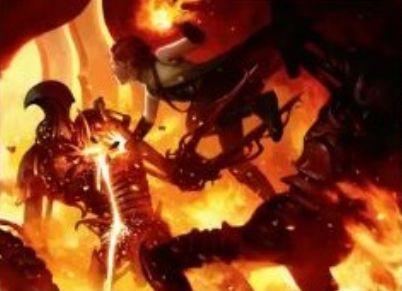 赤の1マナ火力「Fiery Impulse(マジック・オリジン)」
