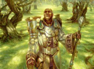 緑レアのマナクリ「名誉ある教主(マジック・オリジン)」