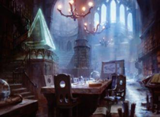 マジック・オリジンの青レアエンチャント「ジェイスの聖域」
