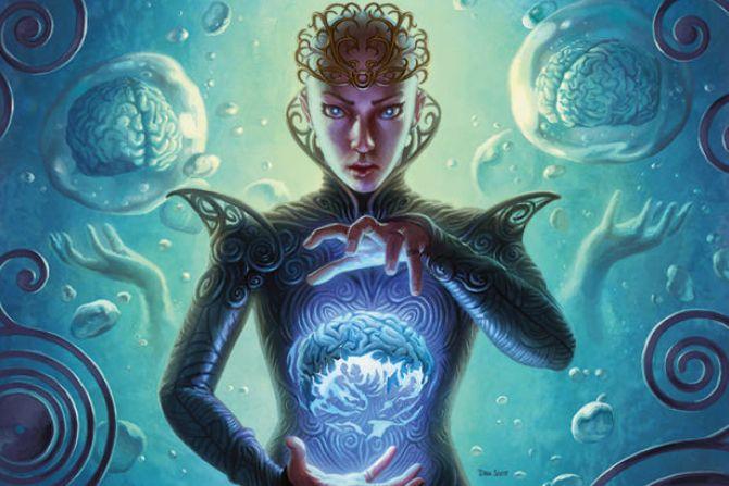 マジック・オリジンの青レアウィザード「意志を砕く者」