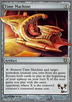 Time Machine(MTG アンヒンジド)
