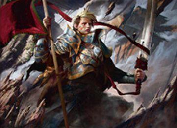 戦乱のゼンディカーの多色レア同盟者「Veteran Warleader」