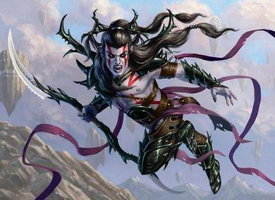戦乱のゼンディカーのレア吸血鬼「果敢な血王」