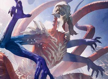戦乱のゼンディカーの神話エルドラージ「絶え間ない飢餓、ウラモグ」