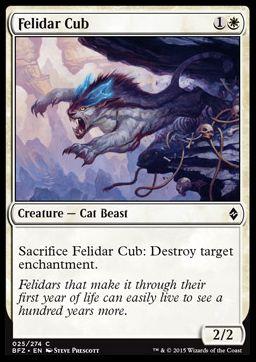 Felidar Cub(戦乱のゼンディカー)