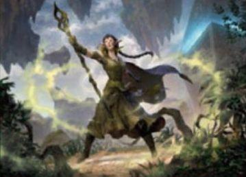 緑レアソーサリー「ニッサの復興(戦乱のゼンディカー)」