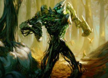 緑神話生物「Undergrowth Champion」(戦乱のゼンディカー)