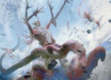 無色アンコのエルドラージ「Deathless Behemoth」(戦乱のゼンディカー)