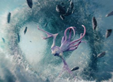 白青のアンコソーサリー「Roil Spout」(戦乱のゼンディカー)