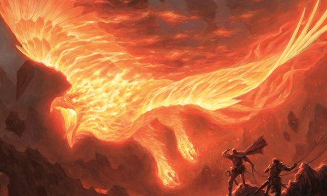 赤神話フェニックス「アクームの火の鳥(戦乱のゼンディカー)」