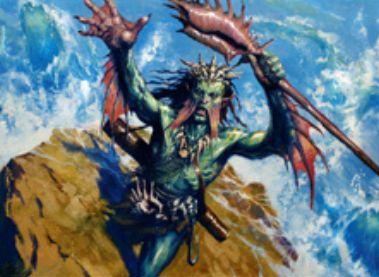 伝説の白青マーフォーク「乱動を刻む者、ノヤン・ダール」(戦乱のゼンディカー)