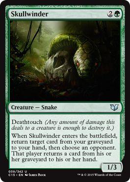 Skullwinder(統率者2015)