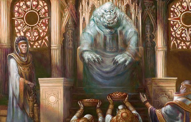 白黒の伝説神話「Karlov Of The Ghost Council(統率者2015)」