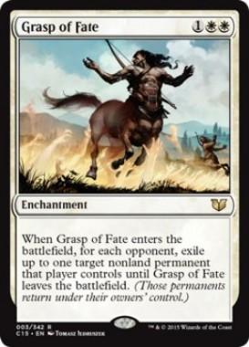 Grasp of Fate(統率者2015)