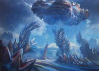 ゲートウォッチの誓いに収録の神話土地「Mirrorpool」