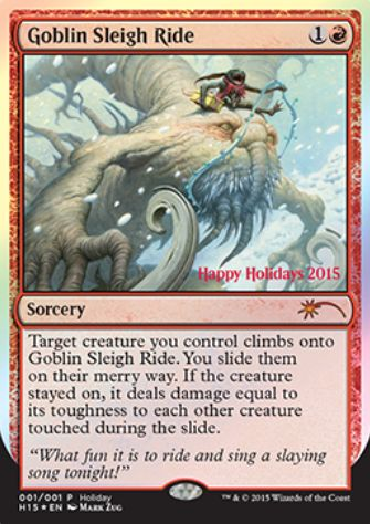 Goblin Sleigh Ride(2015年 ホリデーギフトプロモ)
