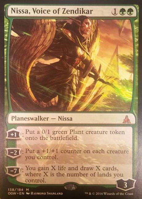 Nissa, Voice of Zendikar(ゲートウォッチの誓い)
