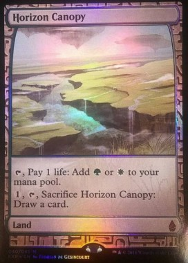 Horizon Canopy(ゲートウォッチの誓い Zendikar Expeditions プレミアム神話レア)