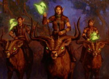 ゲートウォッチの誓いの緑レアエルフ「林鹿騎兵隊」