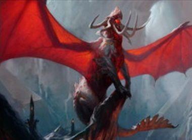 ゲートウォッチの誓いの赤レアドラゴン「ヴァラクートの暴君」
