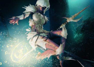イゼットカラーの伝説マーフォーク「Jori En, Ruin Diver」