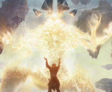 アンコモンの攻撃反応除去「鑽火の輝き(ゲートウォッチの誓い)」