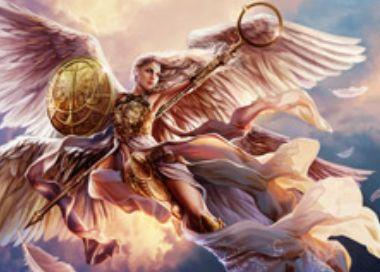 ゲートウォッチの誓いの白神話天使「Linvala, the Preserver」