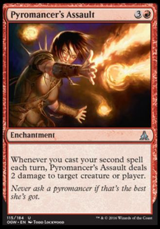 Pyromancer's Assault(ゲートウォッチの誓い)