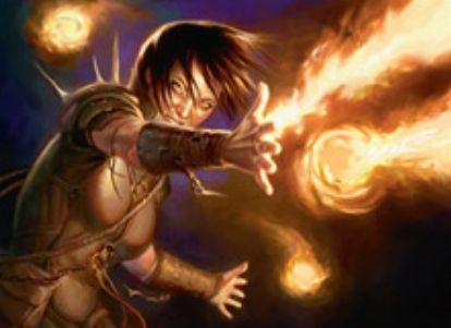 ゲートウォッチの誓いの赤アンコエンチャント「Pyromancer's Assault」