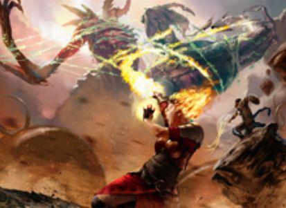 赤レアのX火力「巨人の陥落」(ゲートウォッチの誓い)
