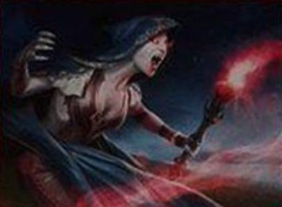 赤コモンの吸血鬼「Sanguinary Mage」(イニストラードを覆う影)