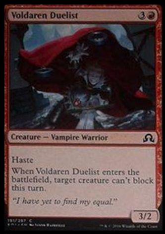 Voldaren Duelist(イニストラードを覆う影)