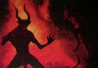 赤アンコのインスタント「Dance with Devils」(イニストラードを覆う影)