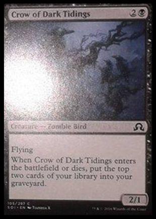 Crow of Dark Tidings(イニストラードを覆う影)